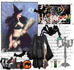 """""""HALLOWEEN!"""" by vandinha2010 ❤ liked on Polyvore"""