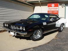 1971 Plymouth Hemi Cuda 2-Door Hardtop,