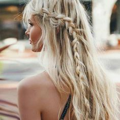 Braid long hair
