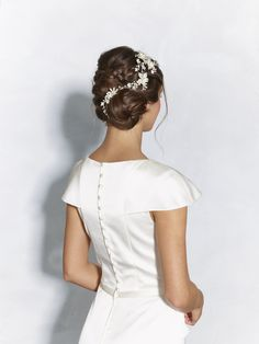 Detailed wedding updo perfect for your big day