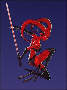 Darth Talon by KelleeArt.deviantart.com on @deviantART