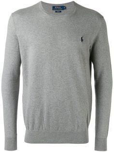 POLO RALPH LAUREN embroidered logo jumper. #poloralphlauren #cloth #jumper