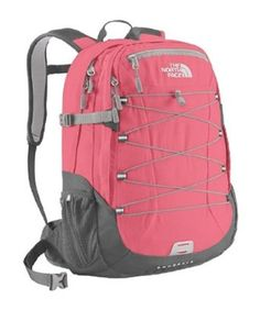 """The North Face Borealis Backpack - Women's.             This sleek, refined daypack boasts two large pockets so you can stash gear quickly and hit the road. The main compartment holds a 17"""" laptop in its padded sleeve, and the front pocket has a bungee cord to store and secure additional gear. This new version of the Borealis h..."""