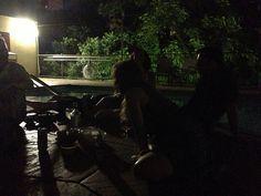 Late Night pool partayy