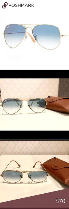 Great for summer! Summer Ray, Sunglasses Accessories, Ray Bans, Light Blue, Style, Swag, Pastel Blue, Light Blue Color, Outfits