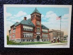 1930's High School and Gymnasium Buckhannon, WV West Virginia PC