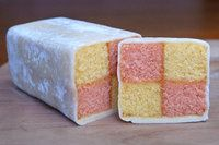 Gorgeous Gluten Free traditional Battenburg Cake