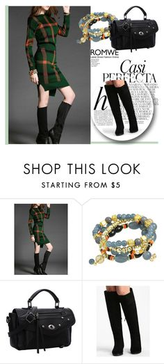 """ROMWE 7/9"" by melissa995 ❤ liked on Polyvore featuring Whiteley"