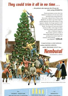It's a 20-ft. ladder & Nembutal Christmas