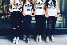 Big Sister / Little Sister T-shirts! #PhiMu