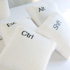 Fancy - Combination Keys Pillows