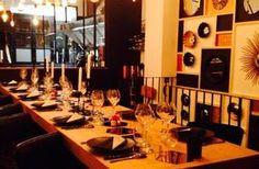 A deux pas du Canal Saint-Martin, le restaurant Matière à a la particularité de ne disposer qu'une d'une seule table d'hôtes. En cuisine, on retrouve le Chef Anthony Courteille, un ancien de l'Atelier Guy Martin, qui propose une carte de saison.