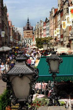 Gdansk Old Town | Gdansk - Old town - Bill Holsten Photography