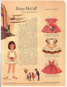 Printable vintage paper dolls!  I loved these when I was a kid and you really can't find paper dolls anymore