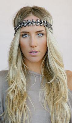 love the hair and headband.