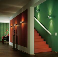 indirekte beleuchtung decke dunkeles interior leuchte wandbeleuchtung fächer