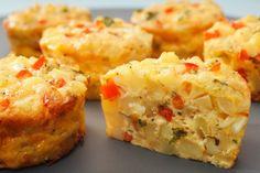 Forging Ahead: Mini Vegetable Frittata (gluten and dairy free)