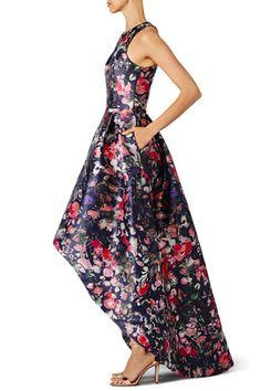 Floral Jadore Gown by ML Monique Lhuillier