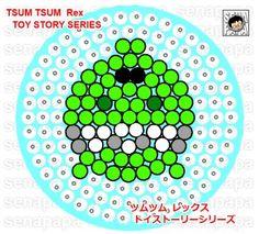 Tsum Tsum Toy Story perler bead pattern