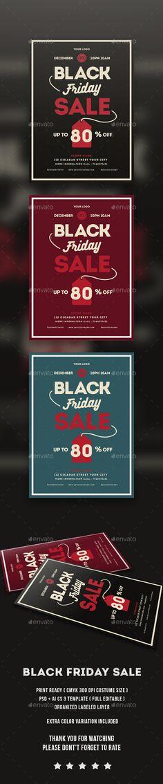 Black Friday Sale flayer Template PSD #design Download: http://graphicriver.net/item/black-friday-sale-flayer/13795206?ref=ksioks