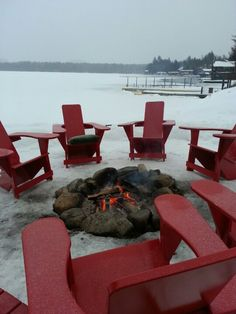 Who said you can't still live like it's summer in the winter time?! Lake Placid , NY
