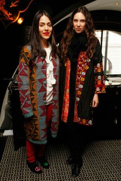 """Tatiana Santo Domingo and Dana Alikhani founded the globally sourced ethical label """"Muzungu Sisters"""" at the end of 2011 as way to accommodate their habit of global wandering. Alikhani, who studies human rights at Columbia University, came up with the idea of sourcing hard-to-find fashion and accessories from the remote corners of the globe. She sees what the pair are doing as """"an extension of that."""""""