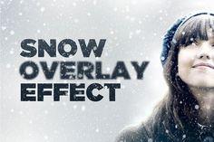 Snowy Day Overlay Effect @creativework247
