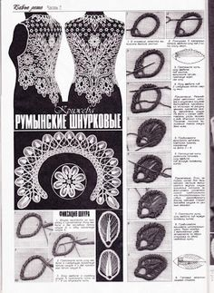 Duplet Magazine #103 - Romanian Point Lace crochet