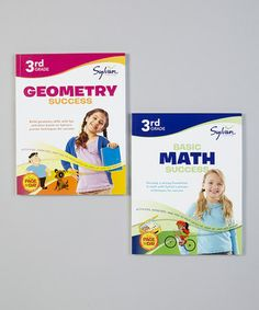 Take a look at this 3rd Grade Math & Geometry Paperbacks by Sylvan on #zulily today!