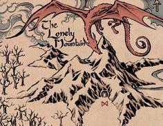 grafika the hobbit, hobbit, and jrr tolkien