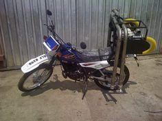 Motorcycle Rural MOBILE Unit Dipper, Livestock, The Unit, Motorcycle, Motorcycles, Motorbikes