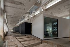 o-office turns an abandoned factory into iD town: the creative art district