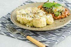 Cauliflower Steak Recipe with Italian Seasoning