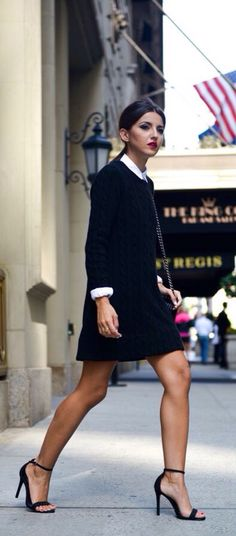 Black Dress n Heels ❤️