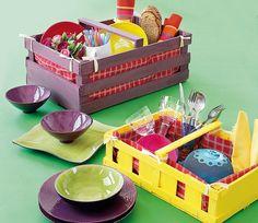 * Decoração e Invenção *: Caixotes de feira