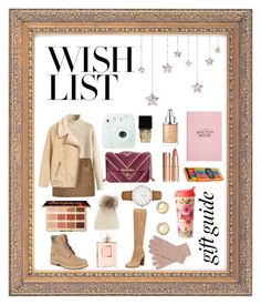 """On my wish list 😍🌲🎅"" by annabalint16 on Polyvore featuring Joules, Timberland, Chanel, Christian Dior, Kenneth Cole, Witchery, Charlotte Tilbury, Fujifilm, CLUSE and UGG"