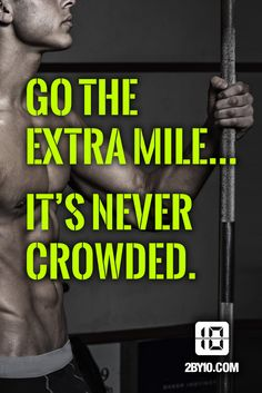 Get out of the crowd. #health #fitness #fit #dedication #workout #motivation #healthy #determination #exercise
