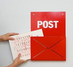 Postbox Wall Mount >> I LOVE this!! I need to get one!