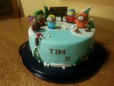 South Park Cake for my Son...