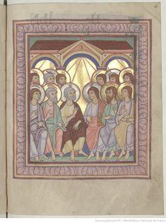 Evangiles pour différentes fêtes. Grandes peint. | Gallica