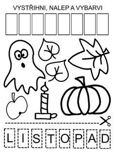 Pro Šíšu: Období PODZIM Kids And Parenting, Crafts For Kids, Halloween, Logos, Cuba, Crafts For Children, Kids Arts And Crafts, Logo, Kid Crafts