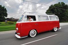 custom vw bay window bus - Google Search