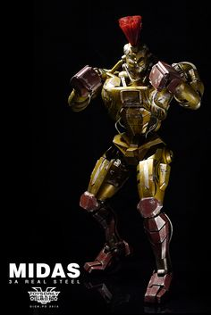 [THREEA TOYS] Real Steel: Midas Bicentennial Man, Man In Black, Bionic Woman, Real Steel, Ex Machina, Batman Vs Superman, Blade Runner, Iron Man, Sci Fi