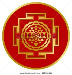 Golden Shree Yantra
