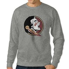 101Dog Florida State University Seminole Mens Pullover-sweaters XX-Large Ash *** Read more at the image link.