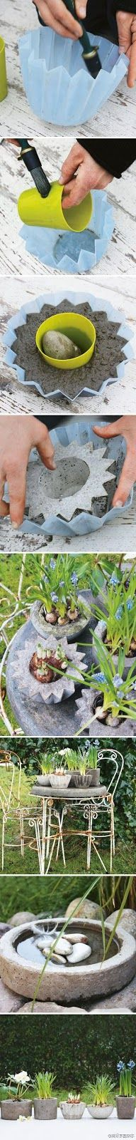 Vasos de Plantas - DIY - * Decoração e Invenção *