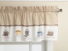 Lorraine Home Fashions Java 56-inch x 12-inch Tailored Valance by Lorraine Home Fashions, http://www.amazon.com/dp/B002RCMLIS/ref=cm_sw_r_pi_dp_ouAdrb08BFDHD