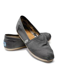 Our go-to shoe: TOMS Classics. Shown: Ash Women's Canvas Classics