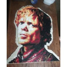 Tyrion Lannister (Peter Dinklage) - Game of Thrones perler beads by tremeir