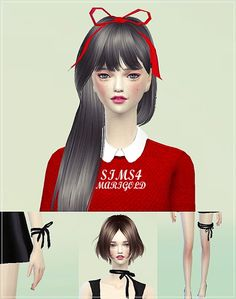 Ribbon set at Marigold • Sims 4 Updates